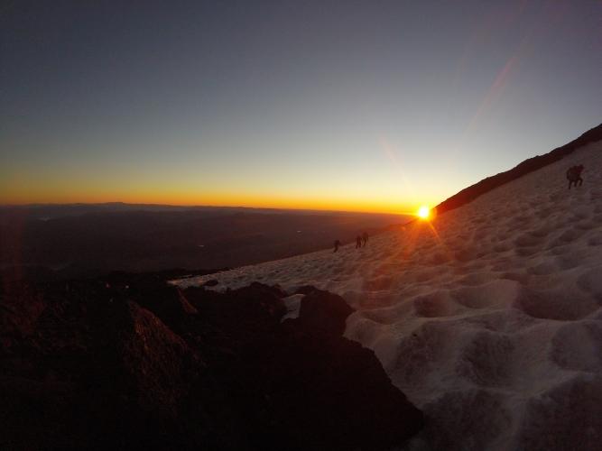 In Volcán Lanín, Neuquén, Argentina you can Ascenso al Volcán Lanín with LATITUR