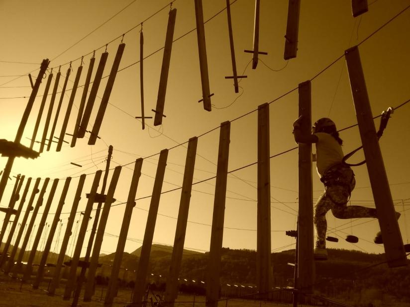 In AeroAventure SMA, Callejón de Bello, San Martin de los Andes, Neuquén, Argentina you can AeroAventure with LATITUR