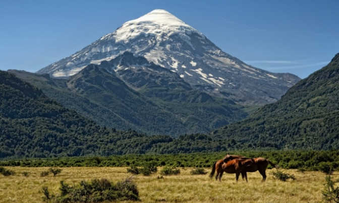 In Volcán Lanín, Neuquén, Argentina you can Ascenso al  Volcán Lanín with LATITUR