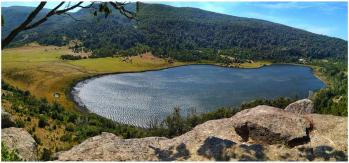 With LATITUR on Laguna de Rosales, San Martin de los Andes, San Martin de los Andes, Neuquén, Argentina you can make Trekking Guiado: Laguna Rosales