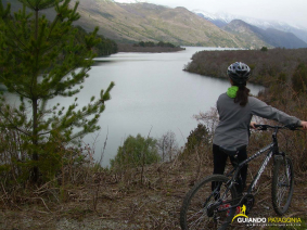 With LATITUR on San Carlos de Bariloche you can make Vuelta al Guillelmo en Bicicleta / MTB