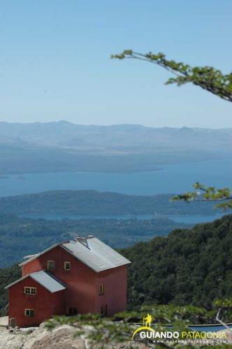 In Refugio López, Río Negro, Argentina you can Trekking Huellas del Cerro  Lopez with LATITUR