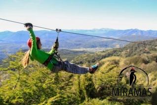 With LATITUR on MIRAMAS - Parque de Montaña, MIRAMAS, San Martin de los Andes, Neuquén, Argentina you can make Canopy Miramas San Martin de los Andes