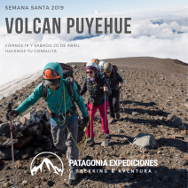 With LATITUR on San Martin de los Andes you can make Volcán Puyehue