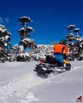 With LATITUR on Caviahue, Neuquén, Argentina you can make Paseo en Motos de Nieve en Caviahue