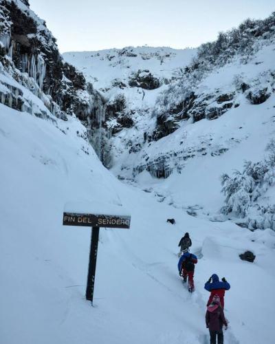 In Caviahue, Neuquén, Argentina you can Caminata con Raquetas de Nieve en Caviahue with LATITUR