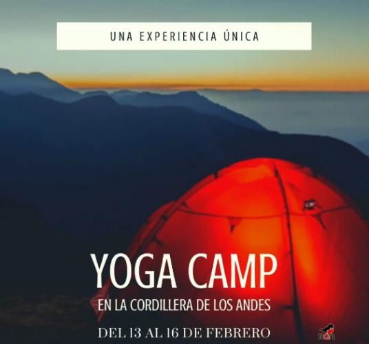 In Caviahue, Neuquén, Argentina you can Yoga Camp with LATITUR