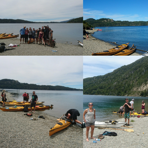 In Lago Moreno, Río Negro, Argentina you can Kayak de Travesía + Bicicleta Mountain Bike with LATITUR