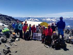 With LATITUR on Volcán Lanín you can make Trekking al Refugio del Volcan Lanín