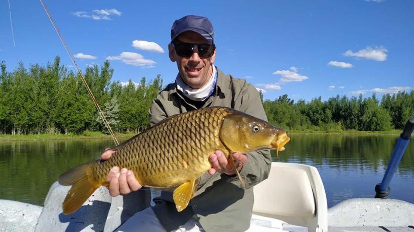 In Bajada Colorada, Neuquén, Argentina you can Pesca en Río Limay Medio with LATITUR