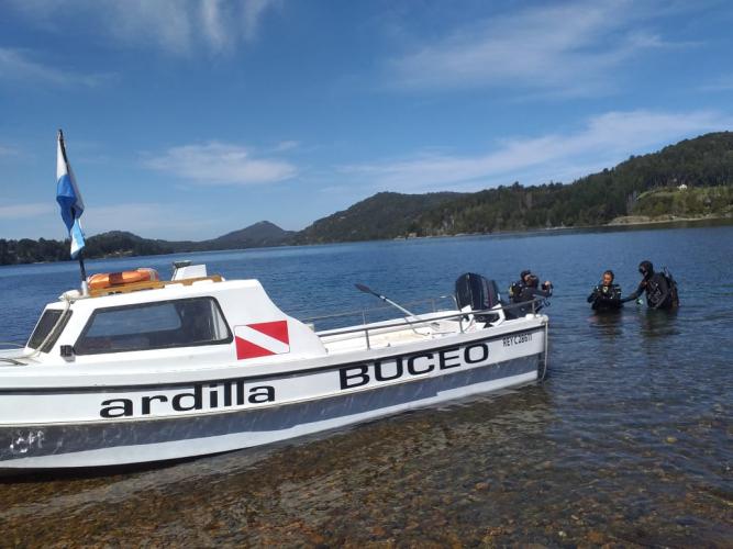 In Lago Moreno, Río Negro, Argentina you can Salida de Buceo en Lago Moreno with LATITUR