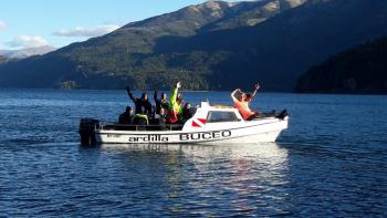 With LATITUR on Lago Moreno, Río Negro, Argentina you can make Paseo en lancha por Lago Moreno de 1 hora