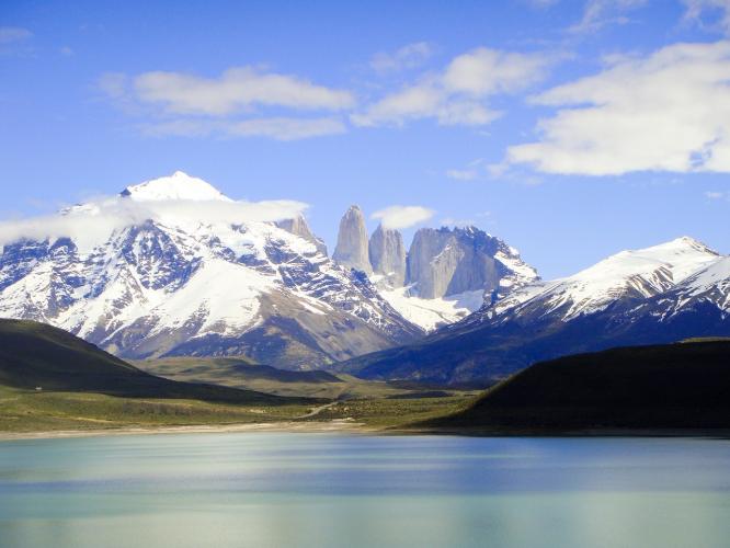 In Magallanes y la Antártica Chilena, Chile you can Excursión a Torres del Paine - Día completo with LATITUR