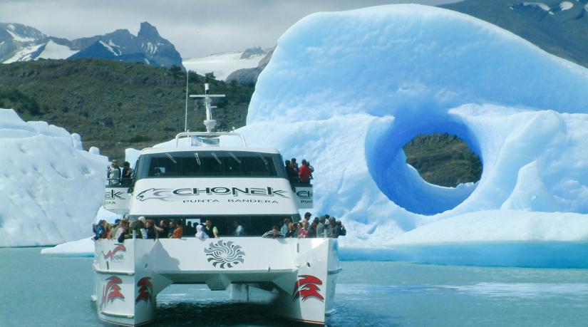 In Punta Bandera, Santa Cruz, Argentina you can Excursión Todo Glaciares with LATITUR