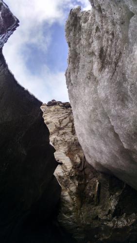 In Glaciar Vinciguerra, Ushuaia, Tierra del Fuego, Argentina you can Trekking Gl. Vicinguerra y Laguna de los Témpanos with LATITUR