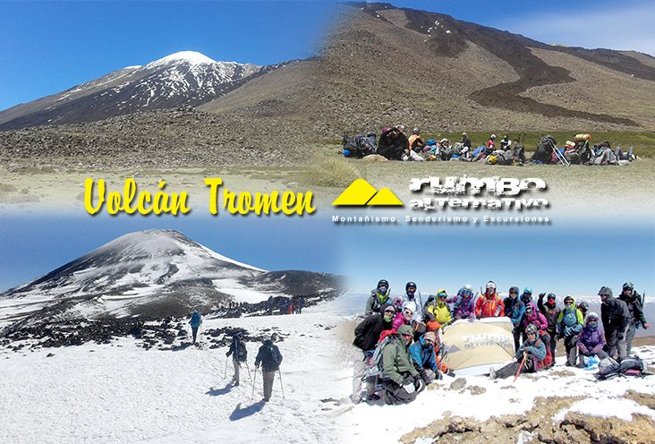 In Volcán Tromen, Neuquén, Argentina you can Trekking al Volcán Tromen with LATITUR