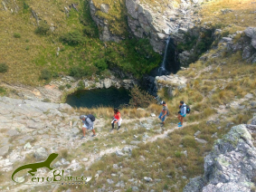 With LATITUR on Córdoba, Argentina you can make Trekking al Salto del Tigre en San Luis