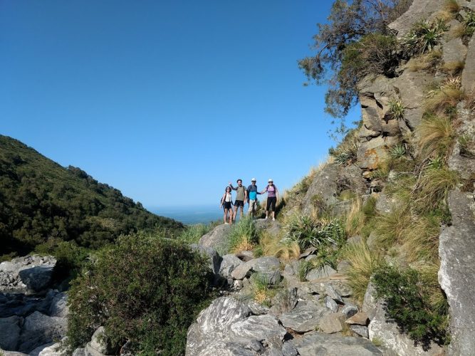 In Salto del Tabaquillo, San Luis, Argentina you can Trekking al Salto del Tabaquillo with LATITUR