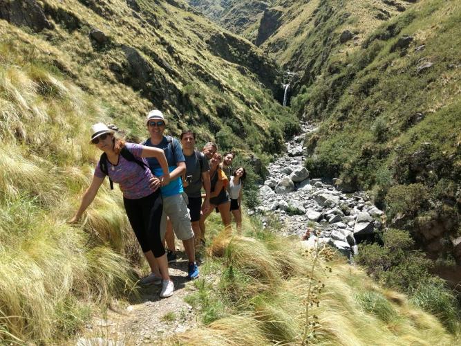 In Salto del Tabaquillo, San Luis, Argentina you can Trekking al Salto del Tabaquillo with LATITUR