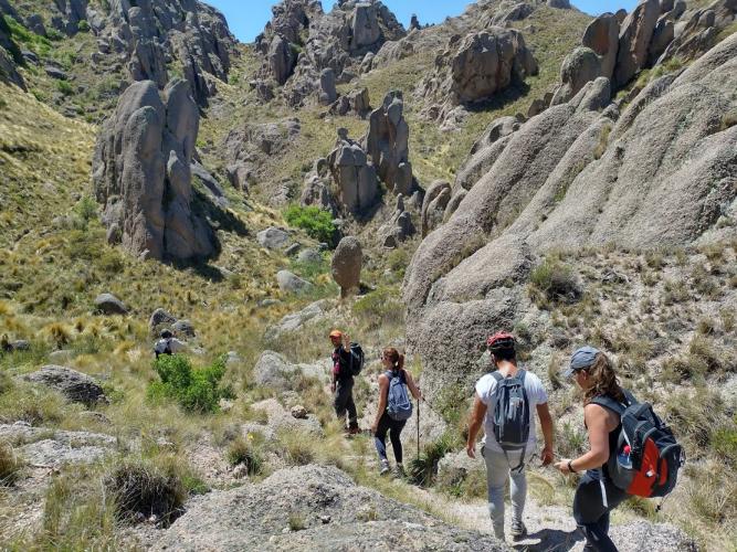 In Merlo, San Luis, Argentina you can Trekking Arroyo Subterráneo El Centinela with LATITUR