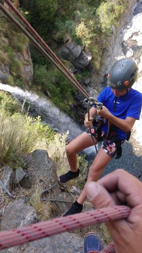 In Salto del Tabaquillo, San Luis, Argentina you can Explorando la Cascada de los Vencejos with LATITUR