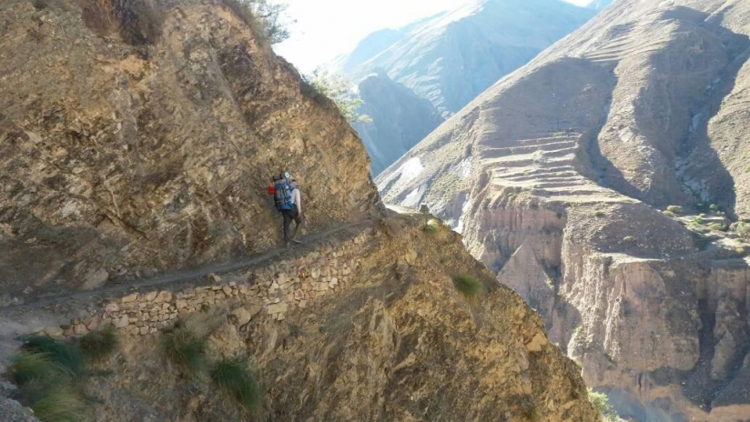 In Iruya, Salta, Argentina you can Trekking montañoso desde Iruya a Nazareno with LATITUR