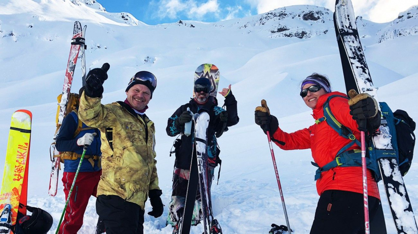 In Cerro Chapelco, Neuquén, Argentina you can Bautismo BACKCOUNTRY with LATITUR