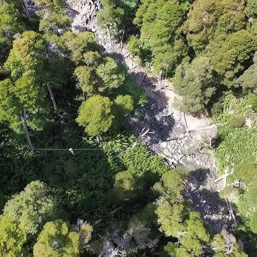In CANOPY CERRO BAYO RIO BONITO, Villa La Angostura, Neuquén, Argentina you can Canopy Cerro Bayo Rio Bonito with LATITUR