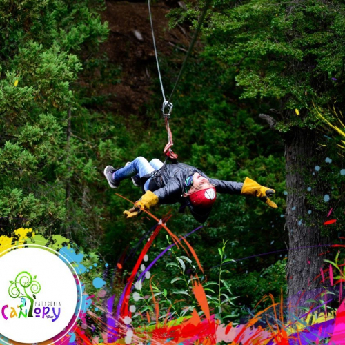 In Patagonia Canopy tour, El Bolson, Río Negro, Argentina you can Patagonia Canopy Tour with LATITUR