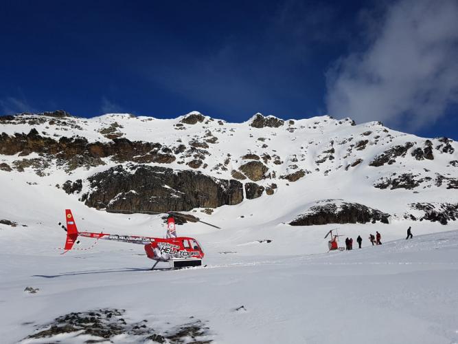 In Ushuaia, Tierra del Fuego, Argentina you can Heliski Ushuaia Valle de Olum y Travesia with LATITUR