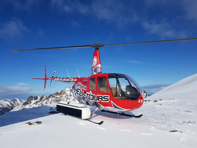 In Ushuaia, Tierra del Fuego, Argentina you can Heliski Ushuaia Valle de Olum with LATITUR
