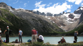 With LATITUR on Ushuaia you can make Trekking De los Andes al Mar - 3 días