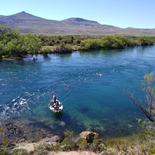 In Río Traful, Neuquén, Argentina you can Pesca en Río Traful with LATITUR