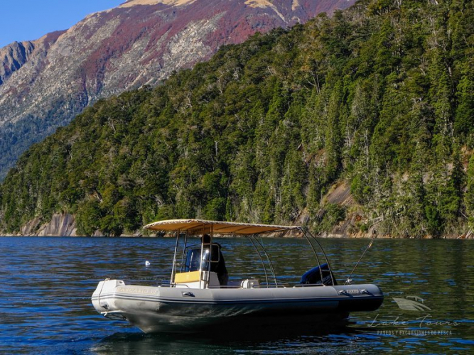 In Lago Nahuel Huapi, San Carlos de Bariloche, Río Negro, Argentina you can Paseo en lancha a rincones paradisíacos with LATITUR