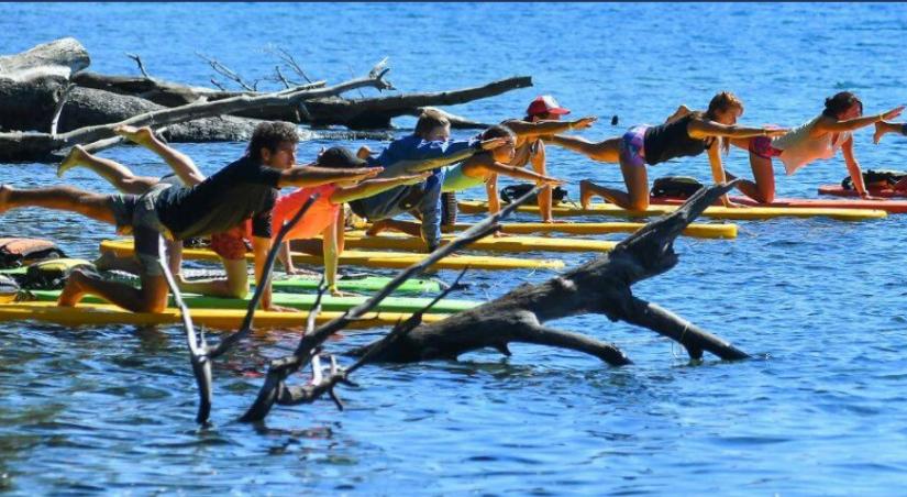 In Lago Lácar, Neuquén, Argentina you can Meditación y Yoga al aire libre - Breath! with LATITUR