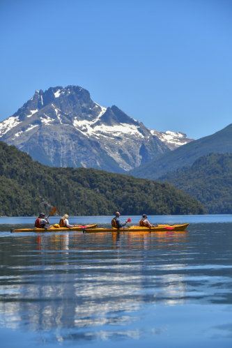 In San Martin de los Andes, Neuquén, Argentina you can Kayak y avistamiento de Aves - H2Ohm with LATITUR