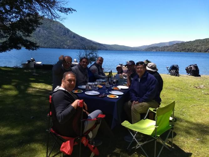 In San Martin de los Andes, Neuquén, Argentina you can Pesca San Martín y Junín  Andes -  todo incluido with LATITUR
