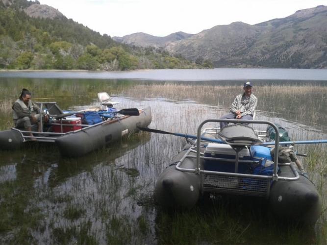 In Lago Strobel, Santa Cruz, Argentina you can Pesca en Lago Strobel - Todo incluido with LATITUR