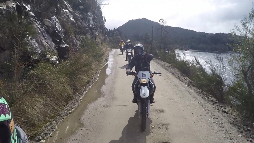In Bariloche, Río Negro, Argentina you can ALQUILER DE MOTOS HONDA XR250 TORNADO with LATITUR