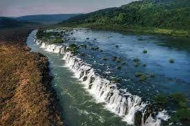 In El Soberbio, Misiones Province, Argentina you can Excursión a Saltos del Mocona with LATITUR