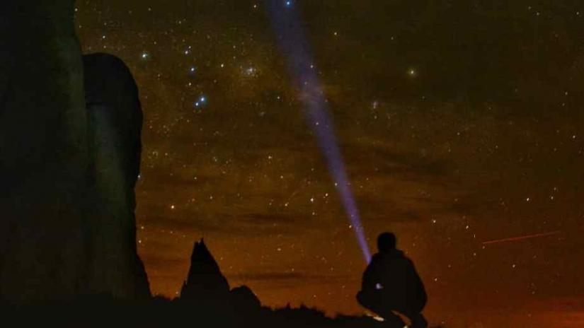 In San Martin de los Andes, Neuquén, Argentina you can Trekking Nocturno Astronómico with LATITUR