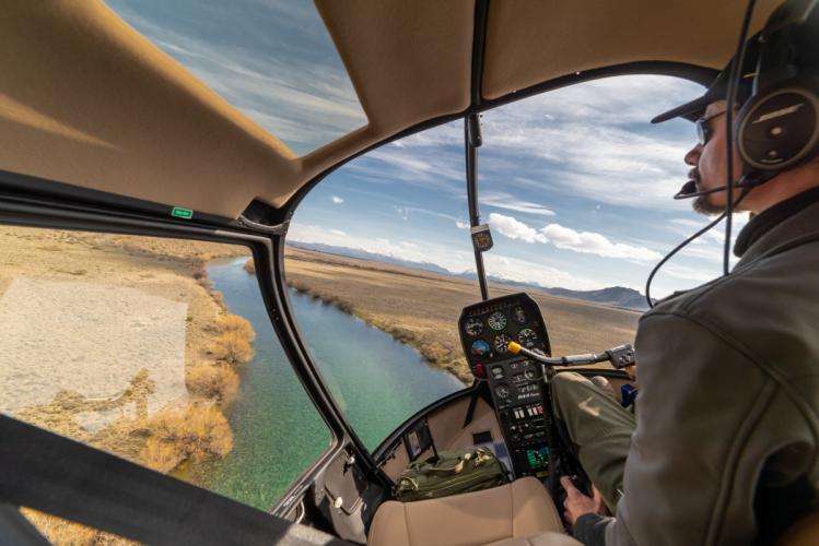 In RN40, Dina Huapi, Río Negro, Argentina you can Vuelo Bautismo en helicoptero en Bariloche with LATITUR
