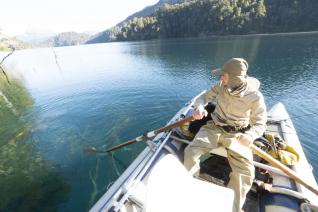 With LATITUR on Villa La Angostura you can make Flotada de pesca en bahía de lago