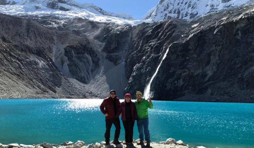 In Laguna 69, 02160, Perú you can TREKKING A LAGUNA 69, CORDILLERA BLANCA with LATITUR