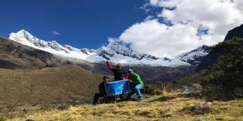 With LATITUR on Huaraz you can make TREKKING SANTA CRUZ, 4 DÍAS, CORDILLERA BLANCA