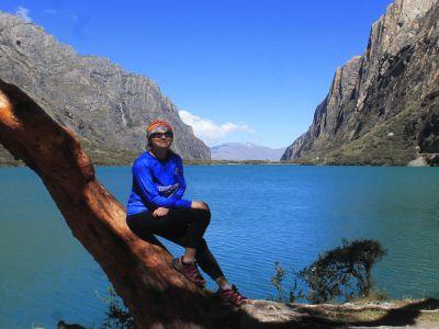 In Quebrada de Llanganuco, 02160, Perú you can LLANGANUCO, LAGUNAS DE CHINANCOCHA Y ORCONCOCHA with LATITUR