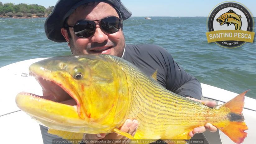 In Paso de la Patria, Corrientes, Argentina you can Pesca Deportiva en Paso de la Patria Día Completo with LATITUR