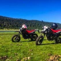 With LATITUR on San Martin de los Andes, Neuquén, Argentina you can make Alquiler Moto Beta 200 – Medio día