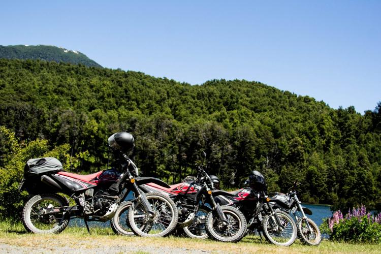 In San Martin de los Andes, Neuquén, Argentina you can Alquiler Moto Beta 200 – Medio día with LATITUR