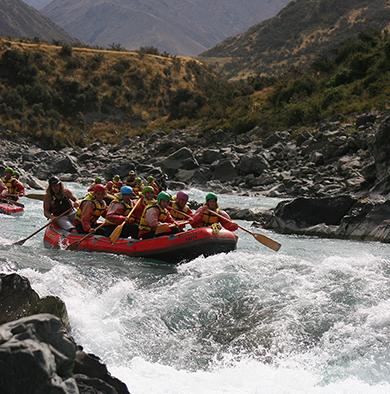 In Potrerillos, Mendoza, Argentina you can Rafting Gutierrez en Río Mendoza con traslado with LATITUR